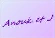 anouk et J 3 logo